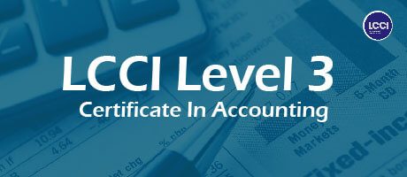Level 3 Certificate Accounting in Singapore